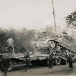 15-05-1944 - Lucera - 'Sherman Tank' - Foto di Albert Chance Special Collection, Gettysburg College