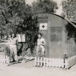 22-06-1944 - Lucera - Battalion Aid Station Shealy & Hakulin - Foto di Albert Chance Special Collection, Gettysburg College