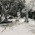 21-07-1944 - Lucera - Wash Day Frank Curzie - Foto di Albert Chance Special Collection, Gettysburg College