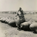 26-07-1944 - Lucera - 1,000 lb. Bombs - Foto di Albert Chance Special Collection, Gettysburg College