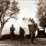 353rd Squadron Tent fire continued