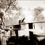 353rd Squadron Tent fire